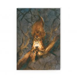 'The Dark Wood' by Jonathan Walker Greetings Card (Copy)