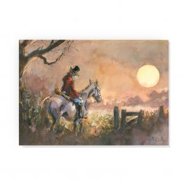 'Evening Falls' by Jonathan Walker Greetings Card