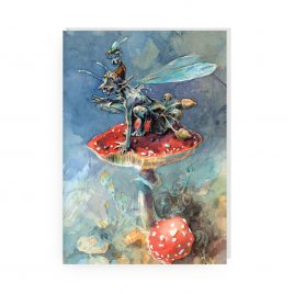 'Mr Psilocybe' by Jonathan Walker Greetings Card