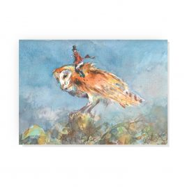 'Night Flight' by Jonathan Walker Greetings Card