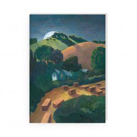 'Moonrise' by Sue Onley Greetings Card
