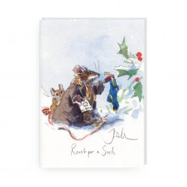 'Roost for a Sock' by Jonathan Walker Greetings Card