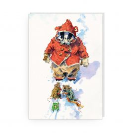 'Talk of the Big Drift' by Jonathan Walker Greetings Card