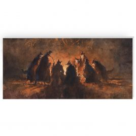 'The Coven' by Jonathan Walker Greetings Card