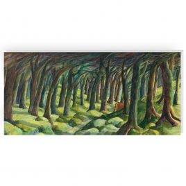 'The Forest' by Sue Onley Greetings Card