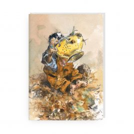 'The Hearty Breakfast' by Jonathan Walker Greetings Card