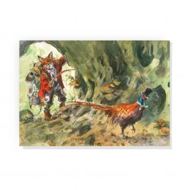 'The Little Stalker' by Jonathan Walker Greetings Card