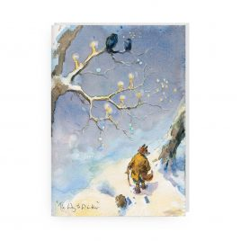 'The Way to Winter' by Jonathan Walker Greetings Card