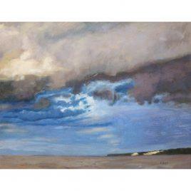 C592 Watchet Harbour Sky – Neville Cox