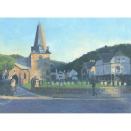 C4913 Evening Light Porlock – Colin Allbrook