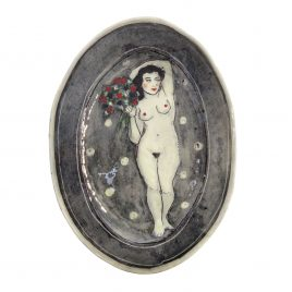 X4526 Medium Oval Plate – Louise Gardelle