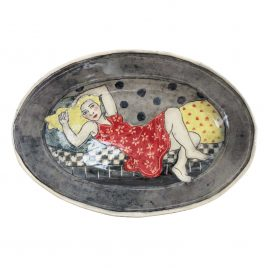 X4530 Medium Oval Plate – Louise Gardelle