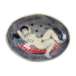 X4531 Medium Oval Plate – Louise Gardelle