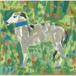 C5405 Dog in a Field I – Cornelia O'Donovan