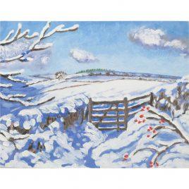 C5585 Winter Gate- Judith Blathwayt
