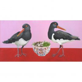 C5649 Oyster Catchers II – Miranda Johnston