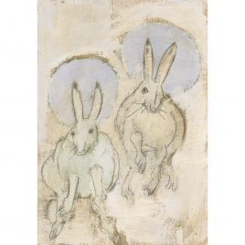 C5908 Two Hares – Ann Farley