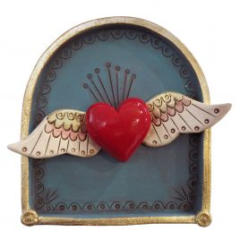 C5945 Winged Heart Shrine – Jo Lucksted