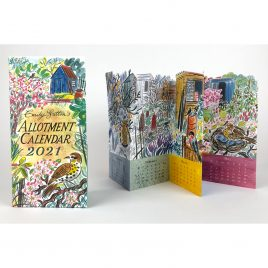 Allotment Calendar 2021 by Emily Sutton