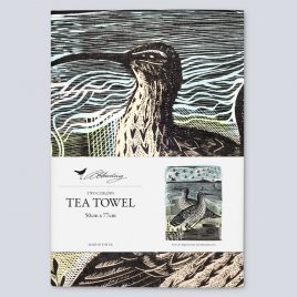 XM-160 Two Curlews Tea Towel by Angela Harding