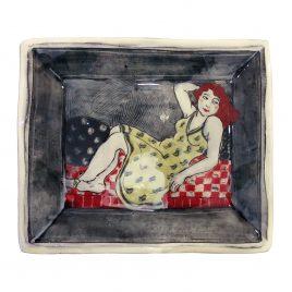 X4923 Rectangular Plate – Louise Gardelle