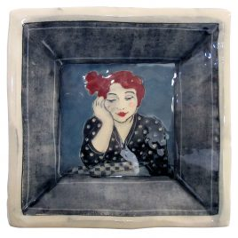X4925 Square Plate – Louise Gardelle