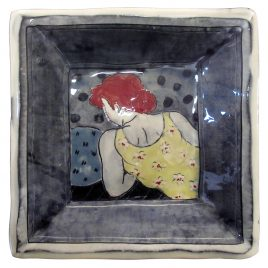 X4926 Square Plate – Louise Gardelle