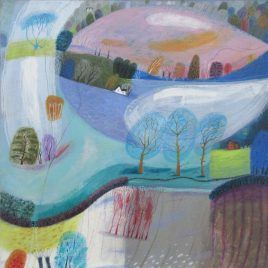 1155C Pink Field – Debbie Lush MA RCA