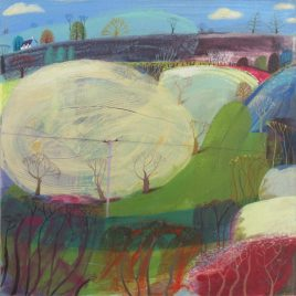 1156C Spring Hedges – Debbie Lush MA RCA