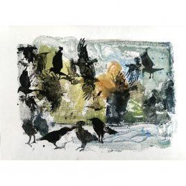 1163C Crows – Sally Muir