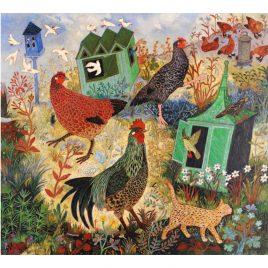 1402X Feeding the Hens  – Anna Pugh