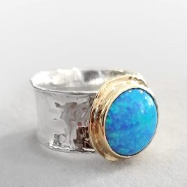 YMR-84 Opal Ring (Size P) – Yaron Morhaim
